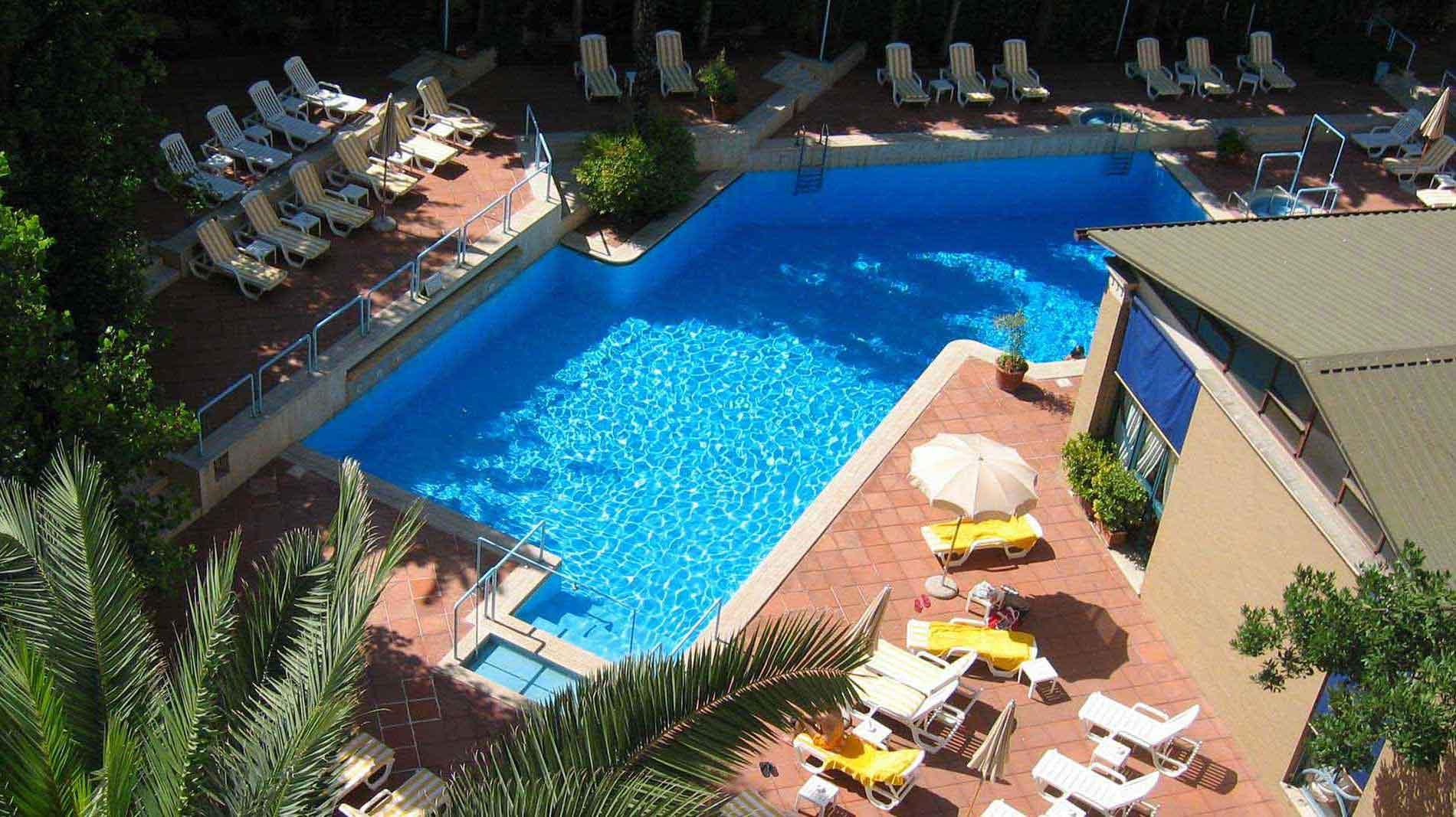 h tel avec piscine rome
