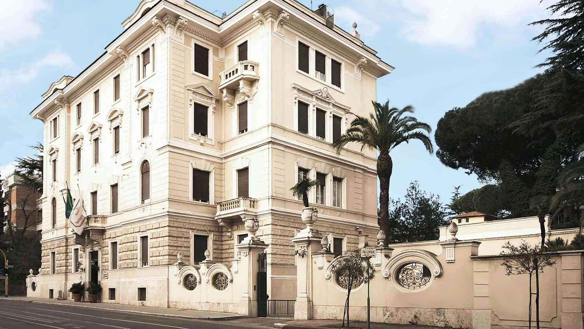 aldrovandi residence city suites site officiel h tel de luxe rome. Black Bedroom Furniture Sets. Home Design Ideas